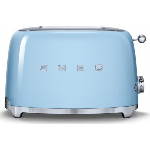 noel grimley electrics smeg 2 slice retro blue toaster tsf01pbuk